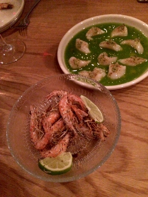 momofuku nishi shrimps